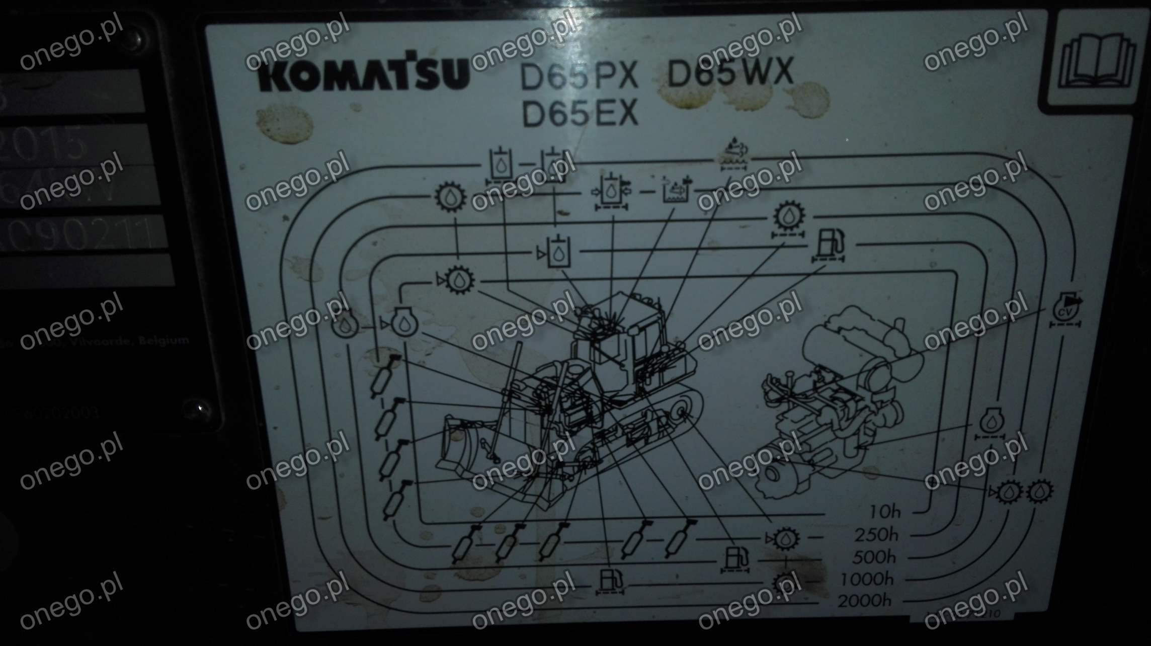 We are not an authorized KOMATSU distributor and our product is not  associated with KOMATSU in any way.