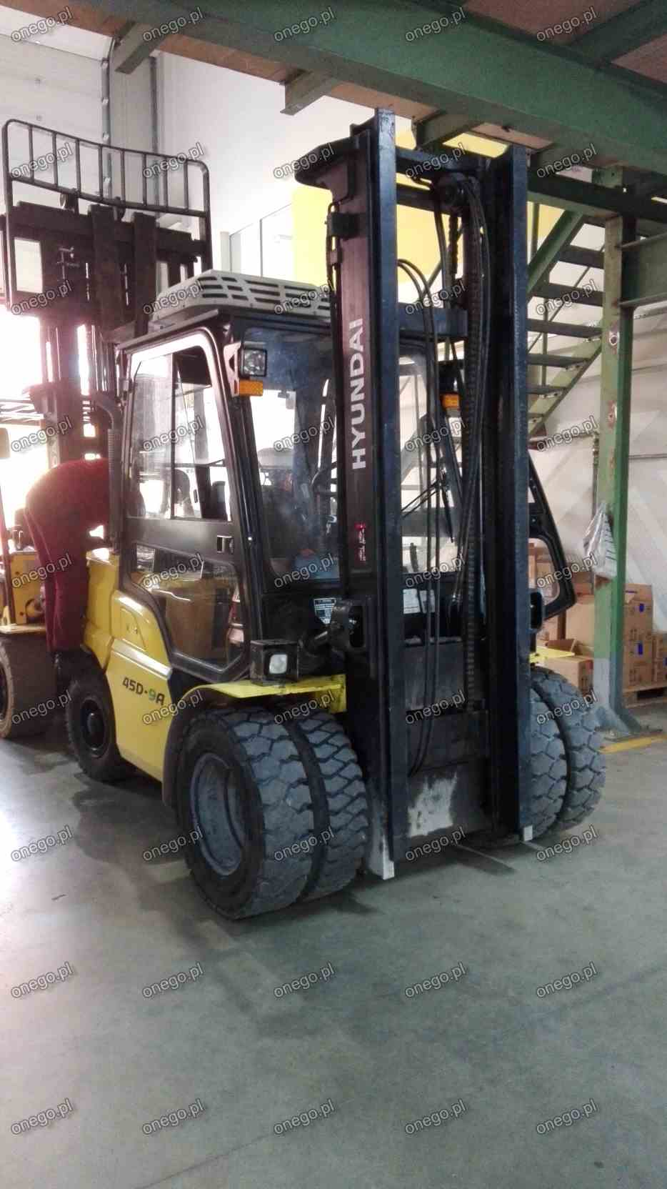 DPF removal - Hyundai Forklifts
